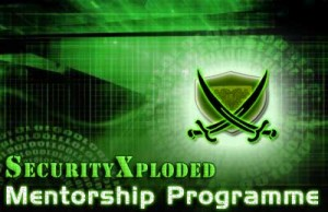 securityxploded mentorship programme