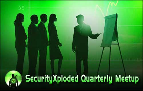 SecurityXploded 5th Quarterly Meetup – 10th October 2015