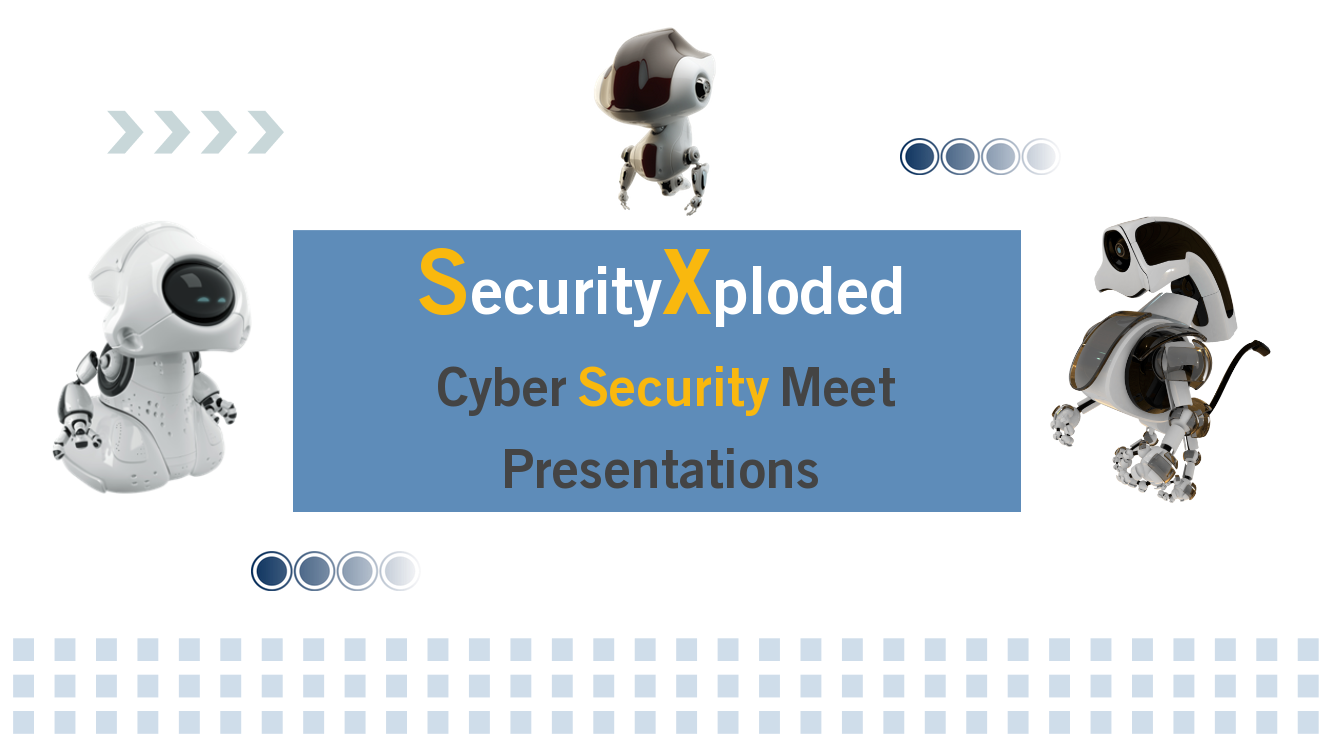 SecurityXploded Cyber Security Meet – 28th May 2016